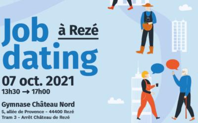 Forum recrutement job dating à Rezé le 7 octobre